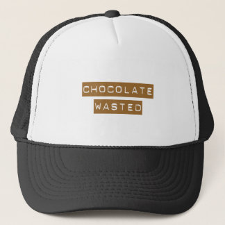 Chocolate Wasted Trucker Hat