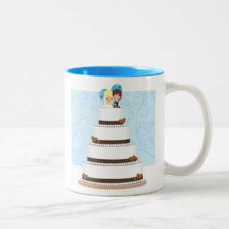 Chocolate Wedding Cake Coffee Mug