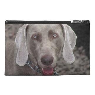 Chocolate Weimaraner Dog Travel Accessory Bag