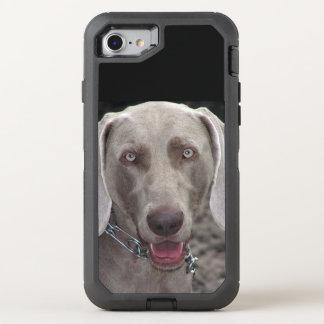 Chocolate Weimaraner OtterBox Defender iPhone 8/7 Case