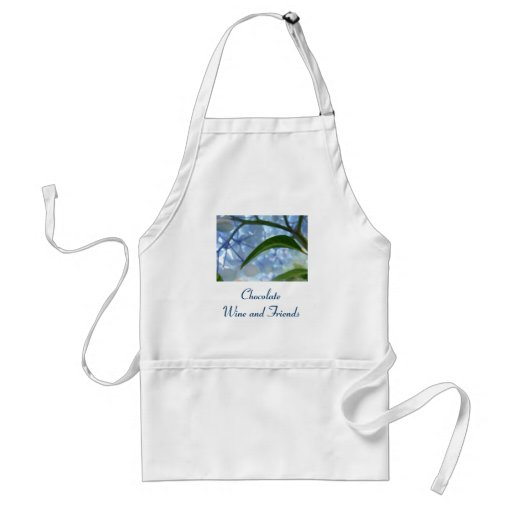 Chocolate Wine & Friends aprons Holiday Gifts