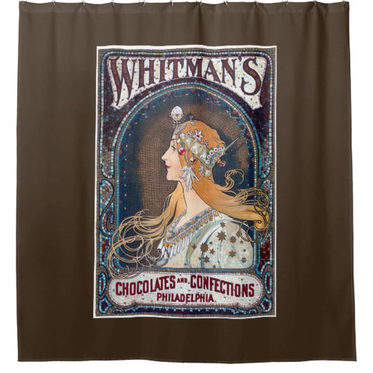 Chocolates and Confections Shower Curtain