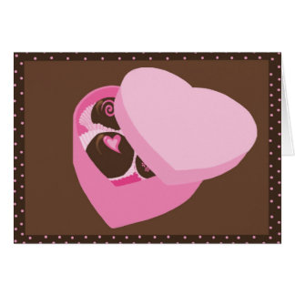 Chocolates Card