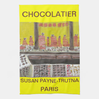 CHOCOLATIER TEA TOWEL