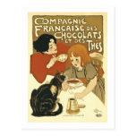 Chocolats Vintage French Ad Postcard