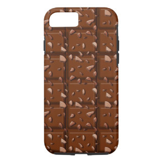 Chocoloate Bar Candy Treat iPhone 7, Tough iPhone 7 Case