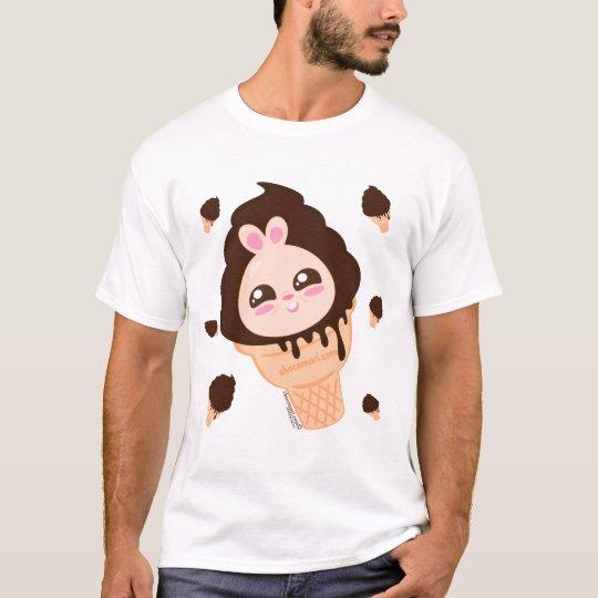 Chocomari- Choco Chubby Bunny Ice Cream V.01 T-Shirt