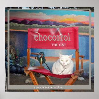 chocorrol the cat poster