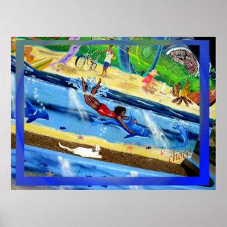 "chocs by ""harmony mural"" print"