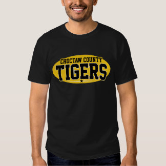 Choctaw County; Tigers T-shirts