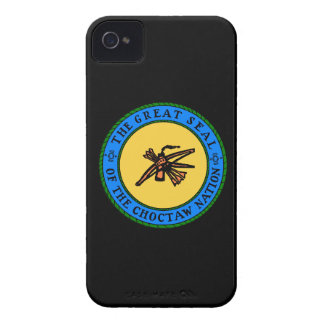 Choctaw Nation Flag iPhone 4 Case