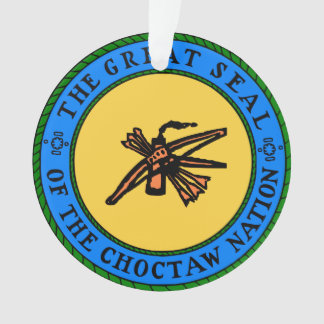 CHOCTAW SEAL Ornament