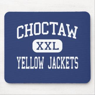 Choctaw - Yellow Jackets - High - Choctaw Oklahoma Mouse Pad