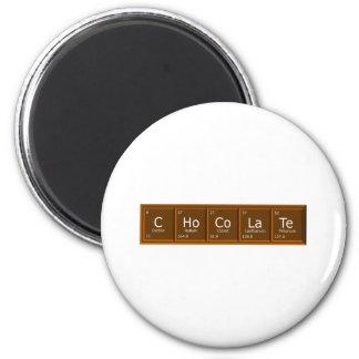 choctrans 6 cm round magnet
