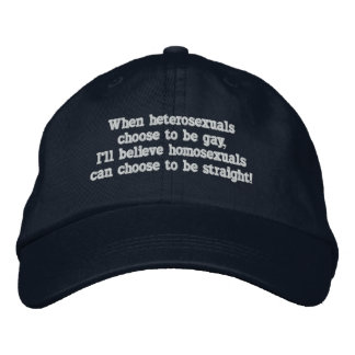 Choice Embroidered Hat