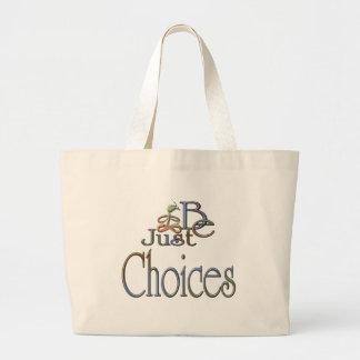 Choices Canvas Bag