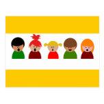 choir-310673  choir children singing music happy c post card
