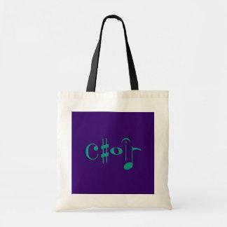 choir canvas bags