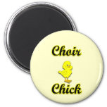 Choir Chick Refrigerator Magnets