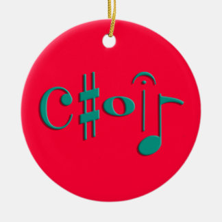 choir christmas ornament