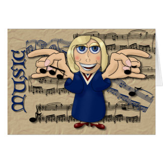 Choir Director Card