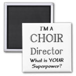 Choir director square magnet