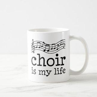 Choir Is My Life Coffee Mug