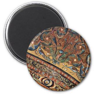 Choir Mosaics At San Vitale In Ravenna Vault Scene Magnet