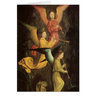 Choir of Angels by Marmion, Renaissance Christmas Greeting Card