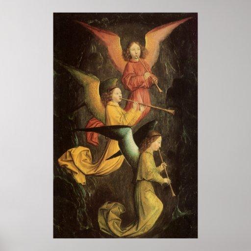 Choir of Angels by Simon Marmion, Renaissance Art