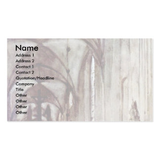 Choir Of The Old Monastery Church In Berlin Pack Of Standard Business Cards