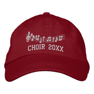 Choir Personalized Embroidered Music Hat Embroidered Hats