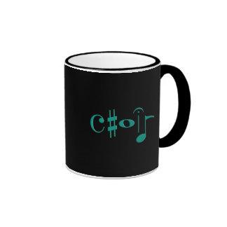 choir ringer mug