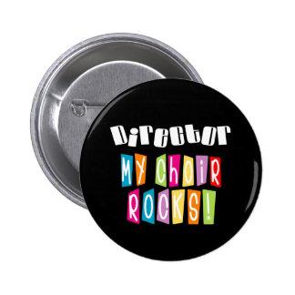 Choir Rocks Director 6 Cm Round Badge