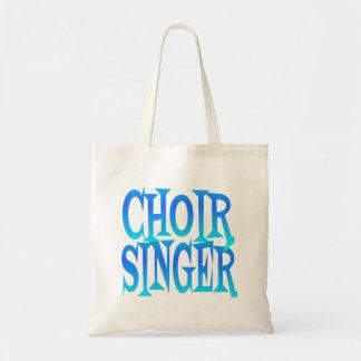 Choir Singer Budget Tote Bag
