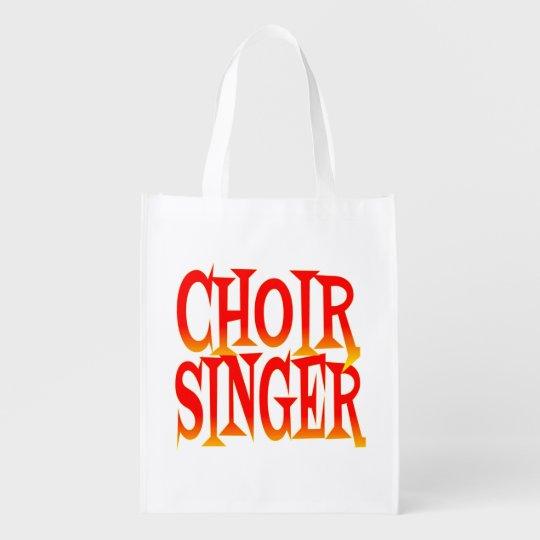 Choir Singer in Bright Colours