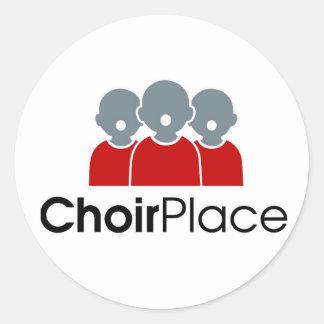 ChoirPlace branded merchandize Classic Round Sticker