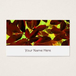 Choisya Autumn 2 business card stripe white