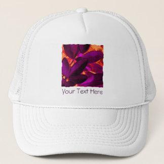 Choisya Autumn 3 'Your Text' trucker hat
