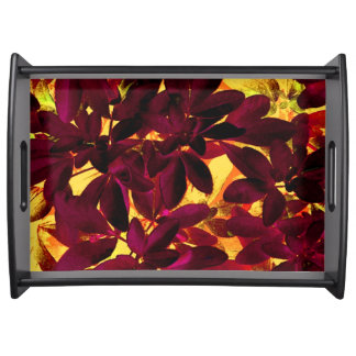 Choisya Autumn serving tray large