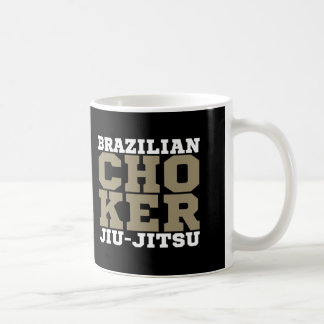 CHOKER - I Love Brazilian Jiu-Jitsu v08, White Basic White Mug