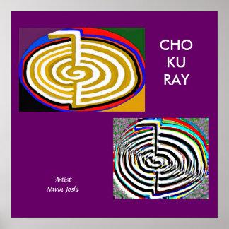 CHOKURAY - basic Reiki Symbol Posters