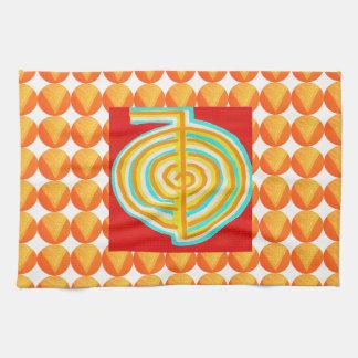 CHOKURAY : CHO KU RAY Reiki Healing Symbol Hand Towel