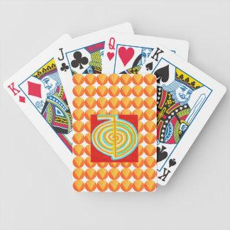 CHOKURAY : CHO KU RAY Reiki Healing Symbol Playing Cards