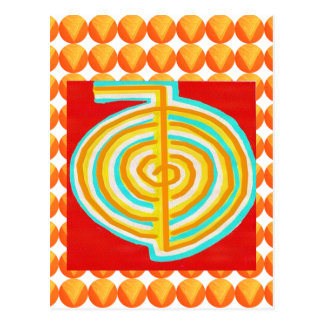 CHOKURAY : CHO KU RAY Reiki Healing Symbol Postcard