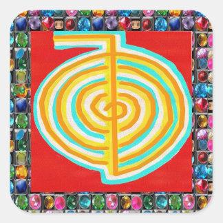 CHOKURAY ReikiHealingArt Square Sticker