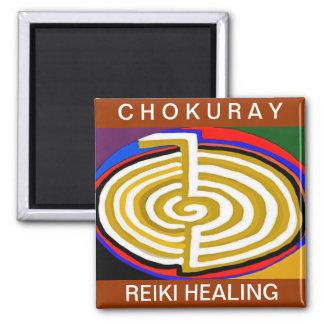 CHOKURAY REIKIHEALINGSYMBOL HEALING SQUARE MAGNET