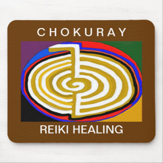 CHOKURAY REIKIHEALINGSYMBOL HEALING MOUSE PAD