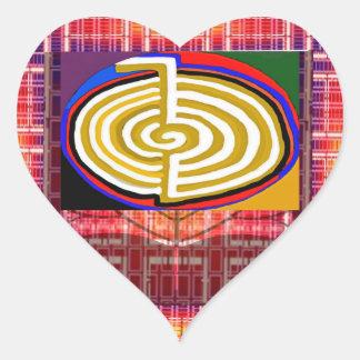 CHOKURAY REIKIHEALINGSYMBOL HEALING HEART STICKER