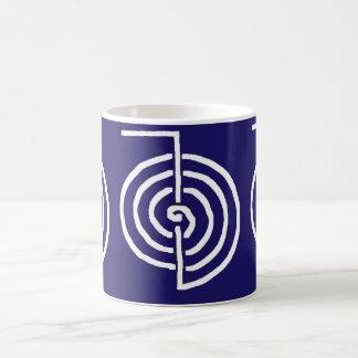 CHOKUREI  Reiki Basic Healing Symbol TEMPLATE gift Basic White Mug